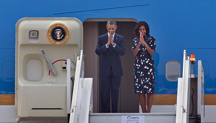 'मैत्री'चा हात हातात घेऊन सौदी अरबसाठी ओबामा रवाना
