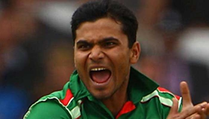 बांग्लादेश कर्णधार मशरेफी मुर्तजावर निलंबनाची कारवाई