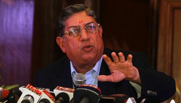 इंडियन टीमवर आरोप करणाऱ्या आयसीसी अध्यक्षांना श्रीनिवासनांनी शिकवला धडा