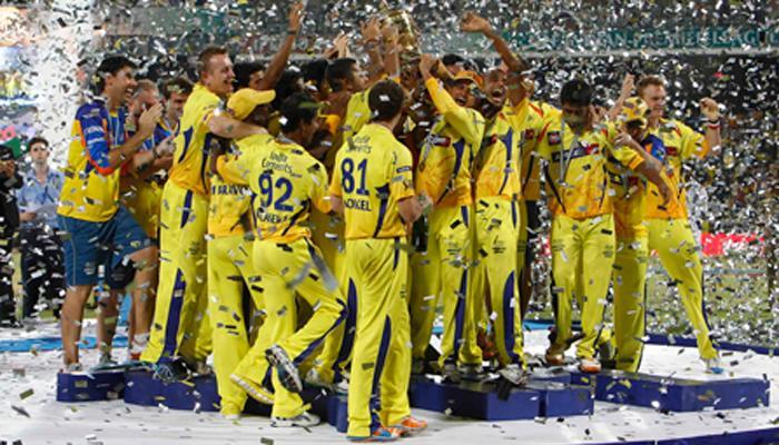 चेन्नई सुपरकिंग्स टीमची किंमत केवळ 5 लाख रूपये