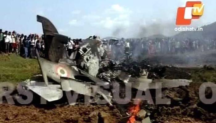 पश्चिम बंगालमध्ये हवाई दलाच्या विमानाचा अपघात