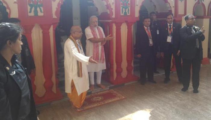 पंतप्रधानांच्या बांग्लादेश दौऱ्याचा अखेरचा दिवस, ढाकेश्वरी मंदिरात पूजा
