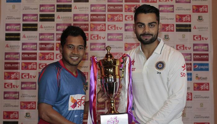 भारत vs बांग्लादेश पहिली कसोटी, टॉस जिंकून भारताचा बॅटिंगचा निर्णय