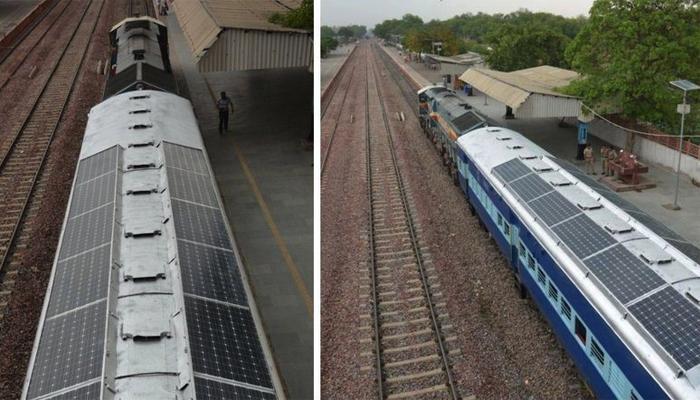 रेल्वे वापरणार डब्यात सौर उर्जा