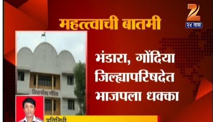भंडारा-गोंदिया जिल्हापरिषद निवडणुकीत भाजपला मोठा धक्का
