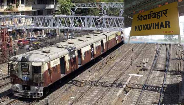पुन्हा 'मरे'चे रडगाणे, रेल्वे रुळाला तडा गेल्यानं वाहतूक विस्कळीत