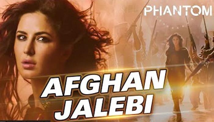 'फॅन्टम' सिनेमातल कटरिनाचं 'अफगान जलेबी' गाणं व्हायरल