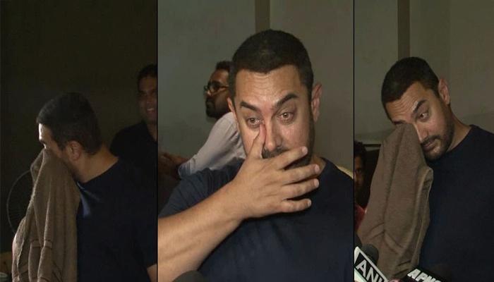 आमीर खान हमसून-हमसून रडला, ट्विटरवर टिवटिवाट
