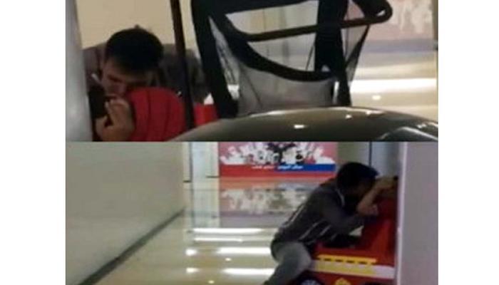 मॉलमधील टॉय कार ऑपरेटरचा घृणास्पद प्रकार, व्हिडिओ वायरल