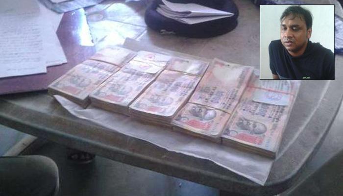 जीतन राम मांझींचा मुलगा पोलिसांच्या ताब्यात, ४ लाख रुपये जप्त