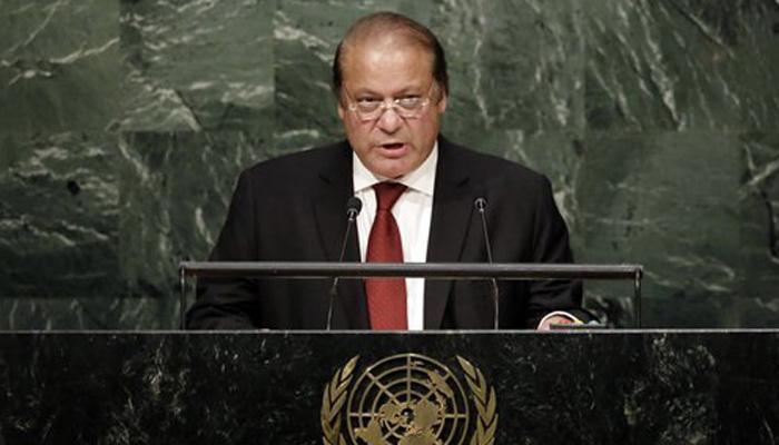 नवाझ शराफींचा पुन्हा काश्मीर राग, म्हणाले यूएनचं सर्वात मोठं अपयश