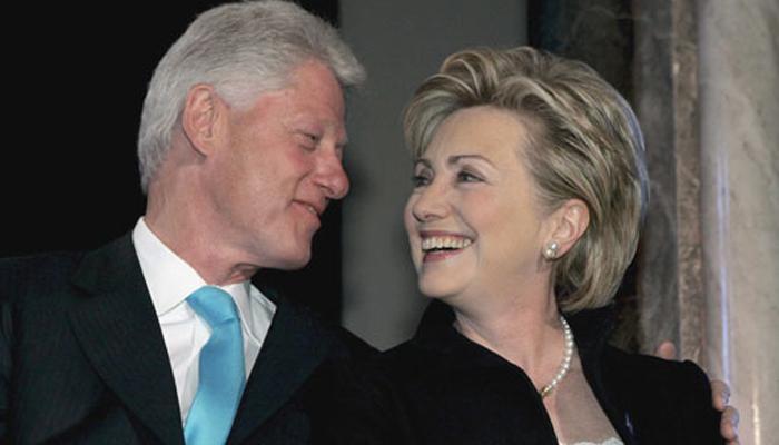 'बिल क्लिंटन घरगुती हिंसाचाराचे बळी; हिलरींनी अनेकदा केली मारहाण'