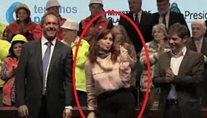 अरजेंटिनाच्या राष्ट्रपती ख्रिस्तिना यांचा डान्स