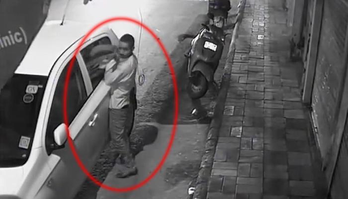 CCTV फूटेज : खबरदार, गाडीत किंमत वस्तू सोडून गेलात तर...