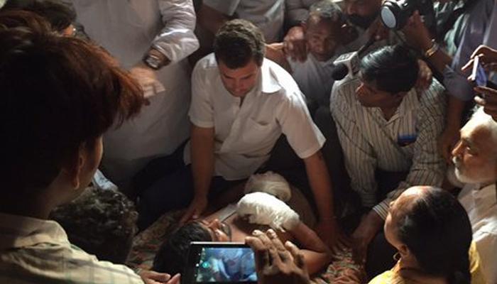 दुर्बल घटकांना चिरडण्याचं काम मोदी, भाजप आणि आरएसएस करतंय - राहुल गांधी