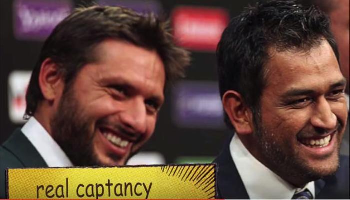 व्हिडीओ | भारत-पाकिस्तान टीमची मैदानातील मैत्री