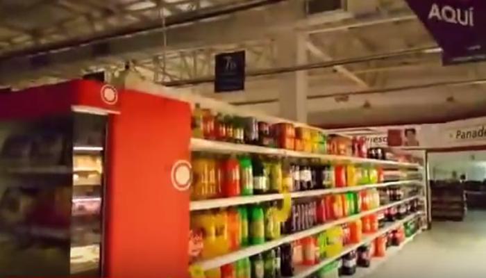 व्हिडीओ   दिल्लीत भूकंपाच्या वेळी हा शॉपिंग मॉल असा हलला