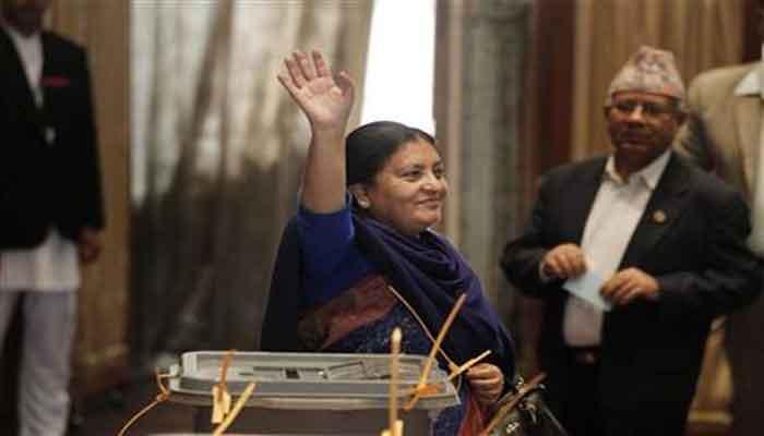 विद्या देवी भंडारी बनल्या नेपाळच्या पहिल्या महिला राष्ट्रपती
