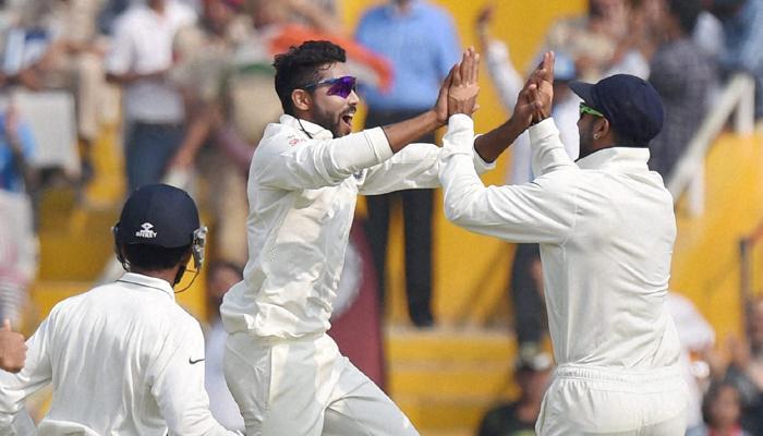 मोहाली कसोटीत टीम इंडियाचा शानदार विजय