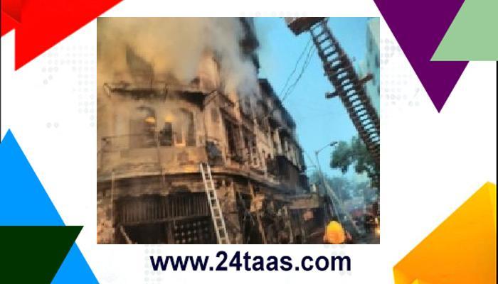 दादर येथे इमारतीला भीषण आग, २ जण गंभीर