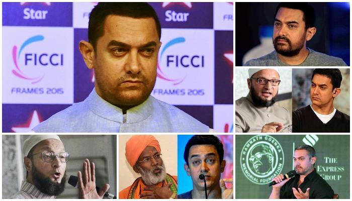 अभिनेता आमिर खानने ओढवून घेतलेले वाद
