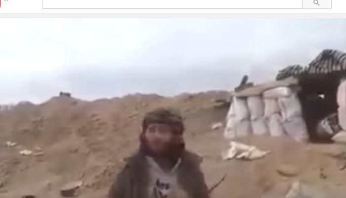 ISISचा दहशतवादी व्हिडिओ शुटींग करताना ठार