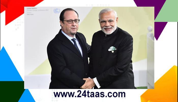 पॅरिसमध्ये पंतप्रधान मोदींची परीक्षा