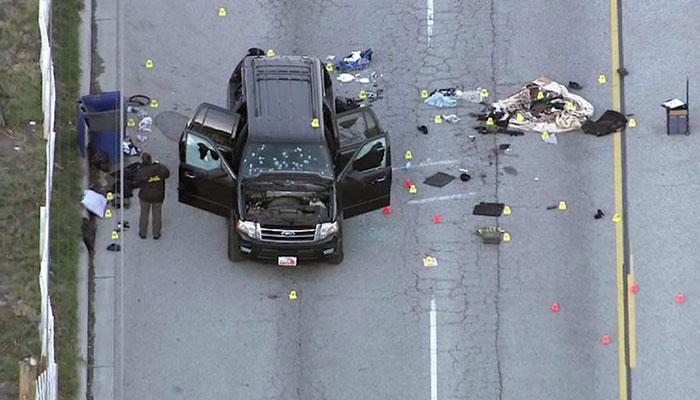 पाकिस्तानी दाम्पत्याने अमेरिकेत केला होता गोळीबार