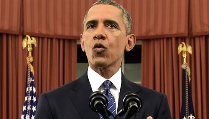 कॅलिफोर्नियातील गोळीबार ही दहशतवादी घटना : ओबामा
