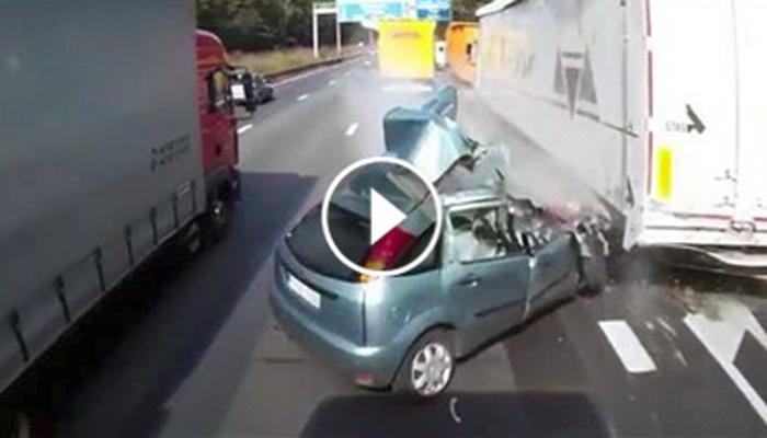तुम्ही अशी गाडी चालवू नका....नाहीतर असा प्रसंग