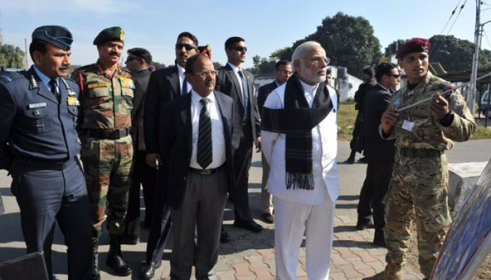 पंतप्रधान मोदींनी केलं भारतीय जवानांचं कौतुक
