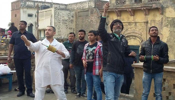 लुधियानात आमीरची मकर संक्रांती सेलिब्रेशनची 'दंगल'