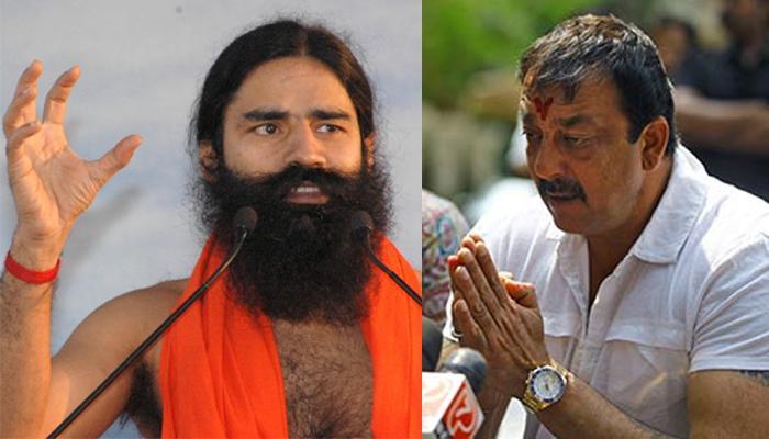 बाबा रामदेवांनी संजय दत्तकडे 'दक्षिणा' म्हणून मागितलं...
