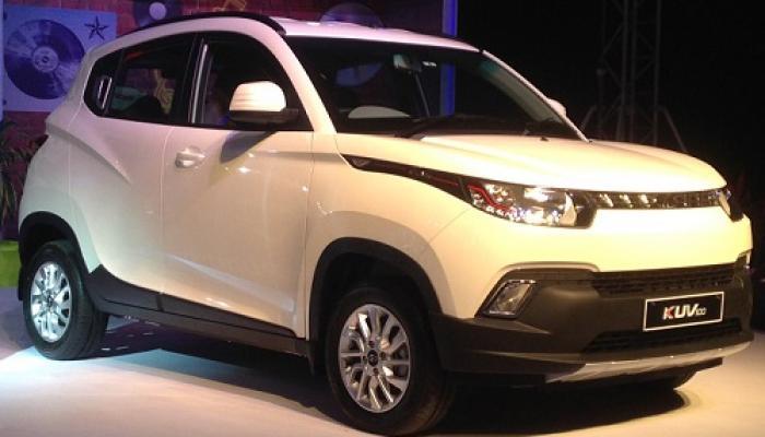 साडे चार लाखांत महिंद्राची नवी SUV 'KUV100' लॉन्च