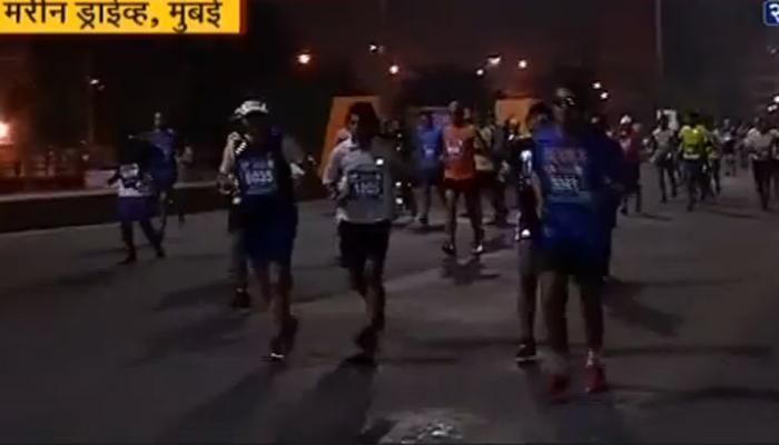 मुंबई मॅरेथॉनवर केनियन धावपटूंचं वर्चस्व