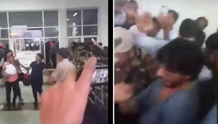 शाहरूख खान अबरामला फॅन्सच्या गर्दीपासून कसा वाचवतो - पाहा व्हिडिओ