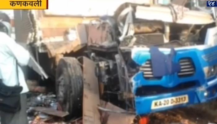 मुंबई-गोवा महामार्गावर अपघातात ४ ठार, २८ जखमी