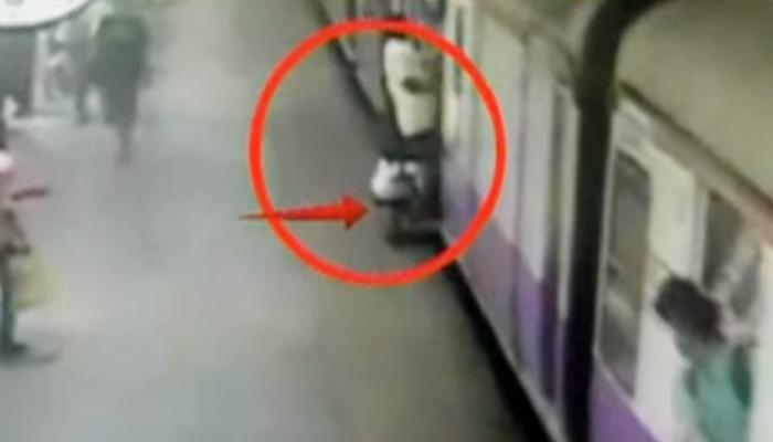 VIDEO : मुलीच्या जन्माच्या सेलिब्रेशनसाठी निघालेल्या बापाचा रेल्वेखाली मृत्यू