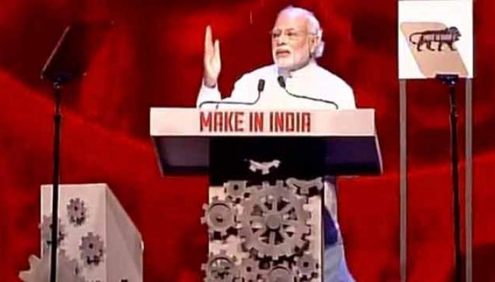 'मेक इन इंडिया' वीकचे पंतप्रधानांच्या हस्ते उद्घाटन