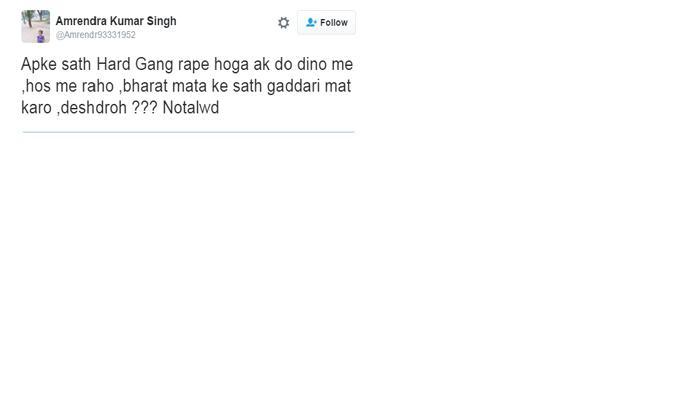 धक्कादायक...महिला पत्रकाराला ट्विटरवर गँगरेपची धमकी
