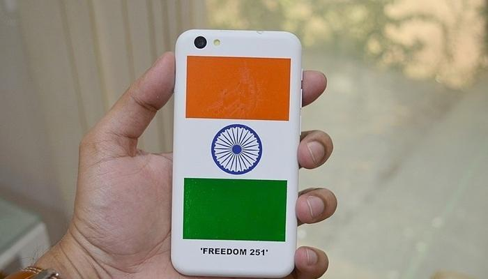 'फ्रीडम 251' प्रत्येक फोनमागे कंपनीला 31 रुपयांचा नफा