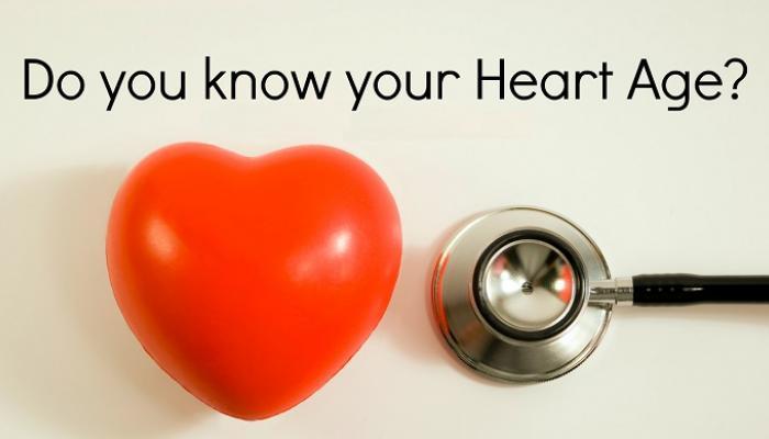 तुमच्या हृदयाचं वय जाणून घ्या