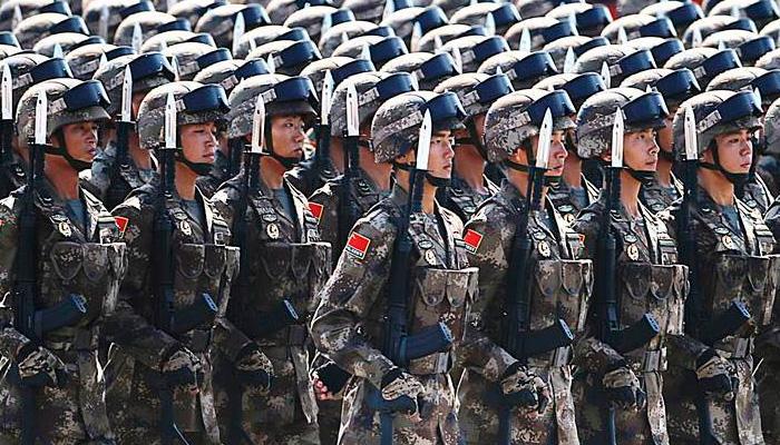 चीनचा लष्करी खर्च भारताच्या चौपट