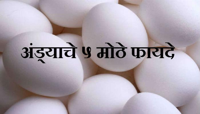 कच्च्या अंड्याचे ५ मोठे फायदे