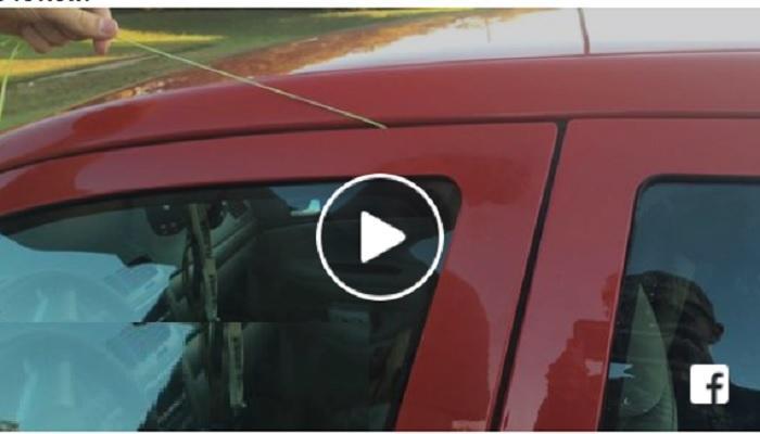 video - लॉक असलेल्या गाड्य़ा अशा प्रकारे जातात चोरीला