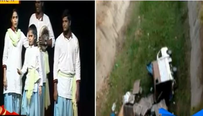 'शिवाजी अंडरग्राऊंड'च्या गाडीचा अपघात
