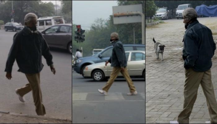 दिल्लीच्या रस्त्यावर फिरत होते बिग बी... कोणी नाही ओळखले