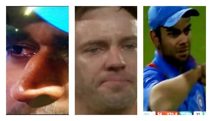 हे क्रिकेटपटू मैदानात रडले