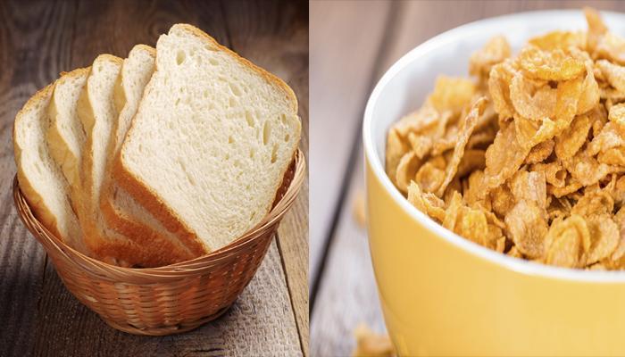 नाश्त्यामध्ये ब्रेड, कॉर्नफ्लेक्स खाणे शरीरासाठी हानिकारक