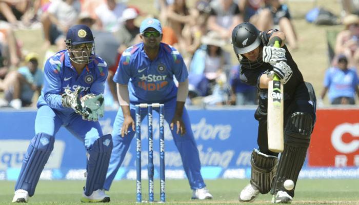 पाहा लाइव्ह स्कोअर - भारत वि. न्यूझीलंड